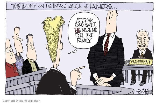 Cartoonist Signe Wilkinson  Signe Wilkinson's Editorial Cartoons 2012-06-17 sexual