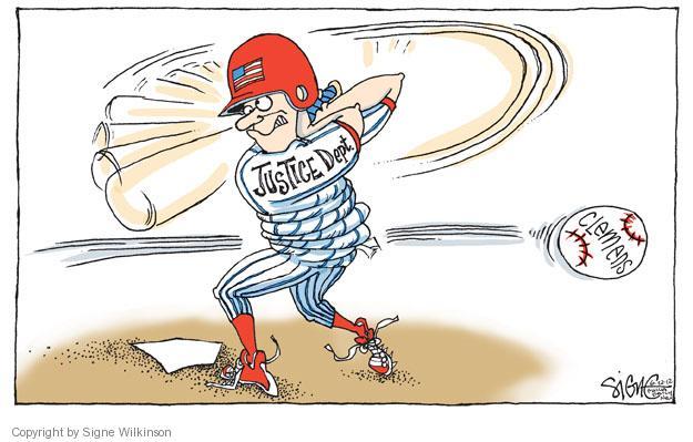 Signe Wilkinson  Signe Wilkinson's Editorial Cartoons 2012-06-22 baseball