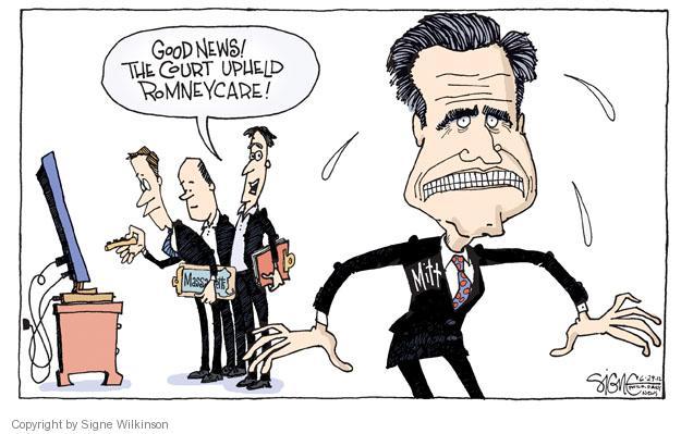 Cartoonist Signe Wilkinson  Signe Wilkinson's Editorial Cartoons 2012-06-29 insurance coverage