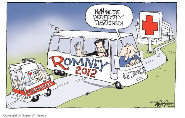 Cartoonist Signe Wilkinson  Signe Wilkinson's Editorial Cartoons 2012-07-01 Mitt