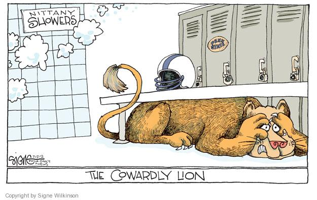 Cartoonist Signe Wilkinson  Signe Wilkinson's Editorial Cartoons 2012-07-13 sexual abuse