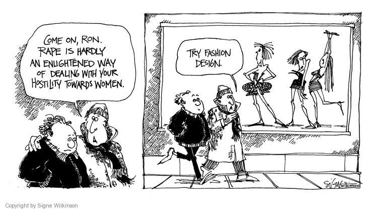 Signe Wilkinson  Signe Wilkinson's Editorial Cartoons 1988-01-01 rape