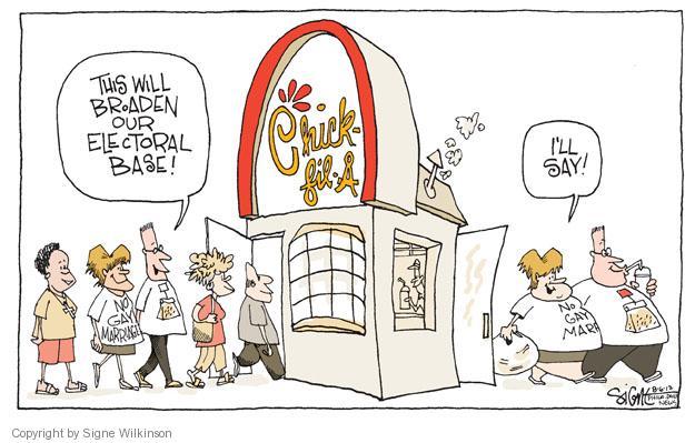 Signe Wilkinson  Signe Wilkinson's Editorial Cartoons 2012-08-06 obese