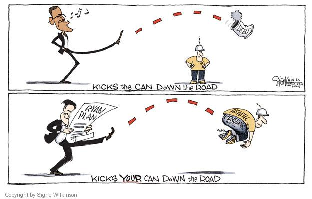 Signe Wilkinson  Signe Wilkinson's Editorial Cartoons 2012-08-15 deficit