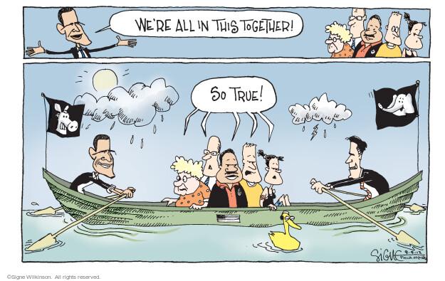 Cartoonist Signe Wilkinson  Signe Wilkinson's Editorial Cartoons 2012-09-09 true