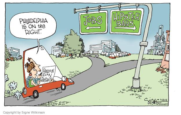 Cartoonist Signe Wilkinson  Signe Wilkinson's Editorial Cartoons 2012-09-23 unemployment