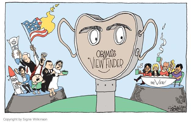 """Obamas """"View"""" Finder. The View. Iran."""