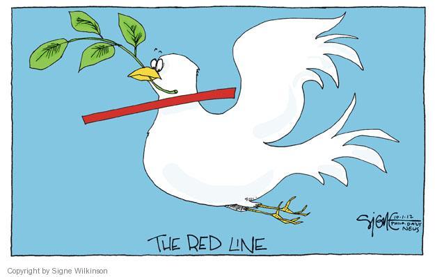 Signe Wilkinson  Signe Wilkinson's Editorial Cartoons 2012-10-01 Iran