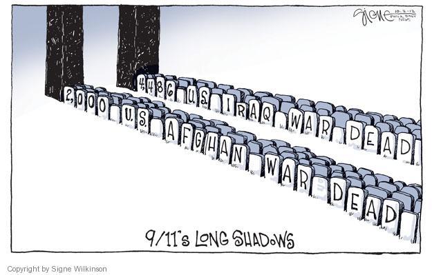 Cartoonist Signe Wilkinson  Signe Wilkinson's Editorial Cartoons 2012-10-02 World War II