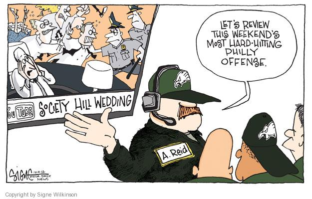 Lets review this weekends hard-hitting Philly offense. Society Hill Wedding. YouTube. A. Reid.