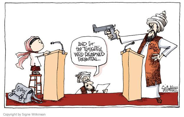 Signe Wilkinson  Signe Wilkinson's Editorial Cartoons 2012-10-12 well