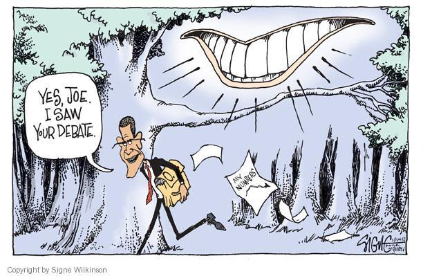 Cartoonist Signe Wilkinson  Signe Wilkinson's Editorial Cartoons 2012-10-14 presidential candidate