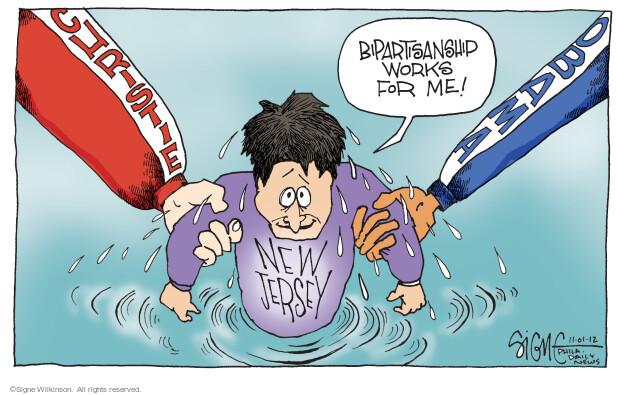 Signe Wilkinson  Signe Wilkinson's Editorial Cartoons 2012-11-01 Obama republicans