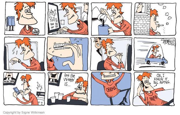 Cartoonist Signe Wilkinson  Signe Wilkinson's Editorial Cartoons 2012-11-08 2012 election