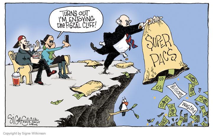 Cartoonist Signe Wilkinson  Signe Wilkinson's Editorial Cartoons 2012-11-10 2012 election