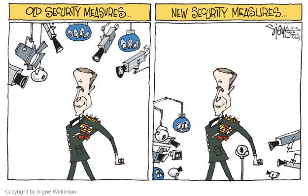 Cartoonist Signe Wilkinson  Signe Wilkinson's Editorial Cartoons 2012-11-19 CIA