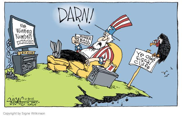 Signe Wilkinson  Signe Wilkinson's Editorial Cartoons 2012-11-30 win