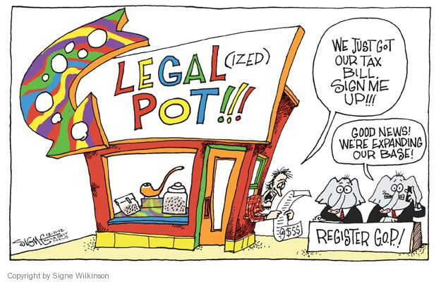 Signe Wilkinson  Signe Wilkinson's Editorial Cartoons 2012-12-11 small business tax