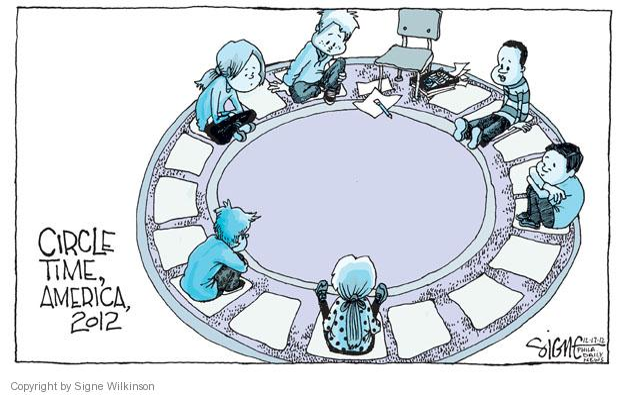 Signe Wilkinson  Signe Wilkinson's Editorial Cartoons 2012-12-17 2012