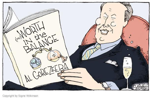 Signe Wilkinson  Signe Wilkinson's Editorial Cartoons 2013-01-07 Al Gore