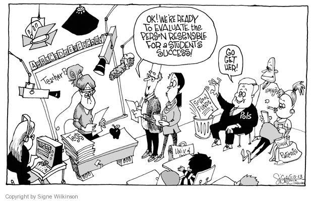 Cartoonist Signe Wilkinson  Signe Wilkinson's Editorial Cartoons 2013-01-13 governor