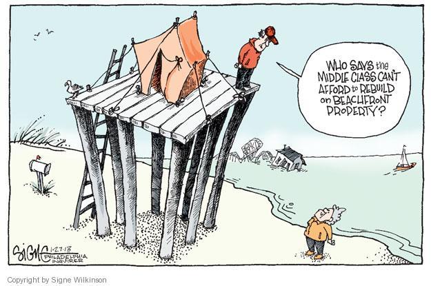 Cartoonist Signe Wilkinson  Signe Wilkinson's Editorial Cartoons 2013-01-27 rebuild