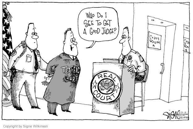 Cartoonist Signe Wilkinson  Signe Wilkinson's Editorial Cartoons 2013-02-03 real