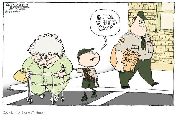 Signe Wilkinson  Signe Wilkinson's Editorial Cartoons 2013-02-22 good