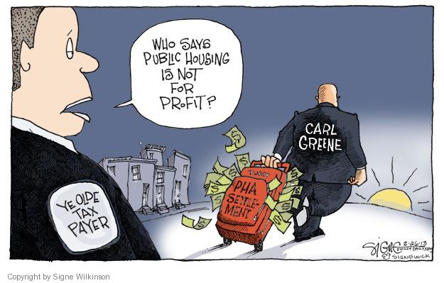 Signe Wilkinson  Signe Wilkinson's Editorial Cartoons 2013-02-26 corruption