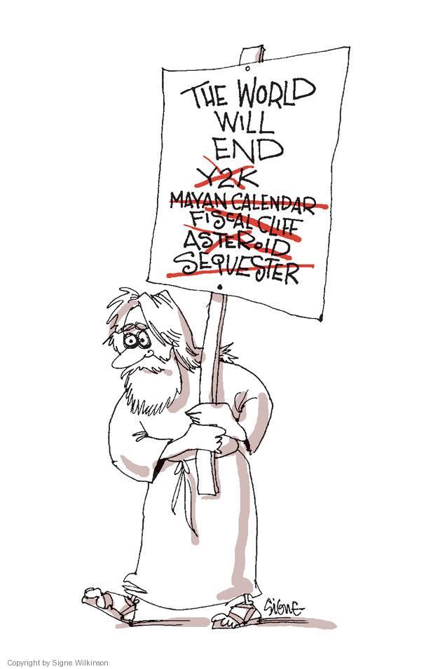 Signe Wilkinson  Signe Wilkinson's Editorial Cartoons 2013-03-02 end