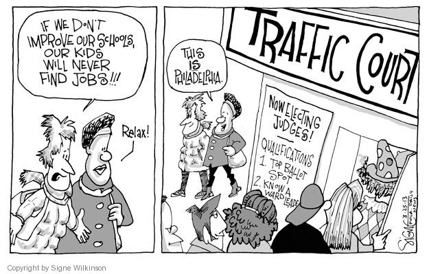 Signe Wilkinson  Signe Wilkinson's Editorial Cartoons 2013-03-25 political leader