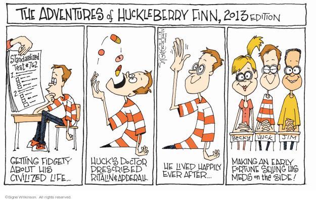 Signe Wilkinson  Signe Wilkinson's Editorial Cartoons 2013-04-02 2013