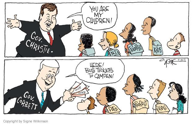 Signe Wilkinson  Signe Wilkinson's Editorial Cartoons 2013-04-14 political system
