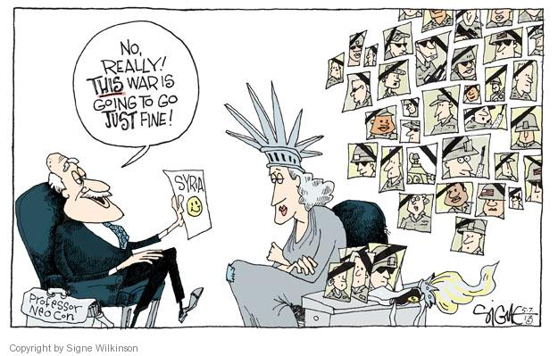 Cartoonist Signe Wilkinson  Signe Wilkinson's Editorial Cartoons 2013-05-07 professor