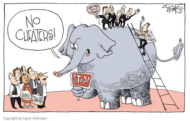 Signe Wilkinson  Signe Wilkinson's Editorial Cartoons 2013-05-09 congressman