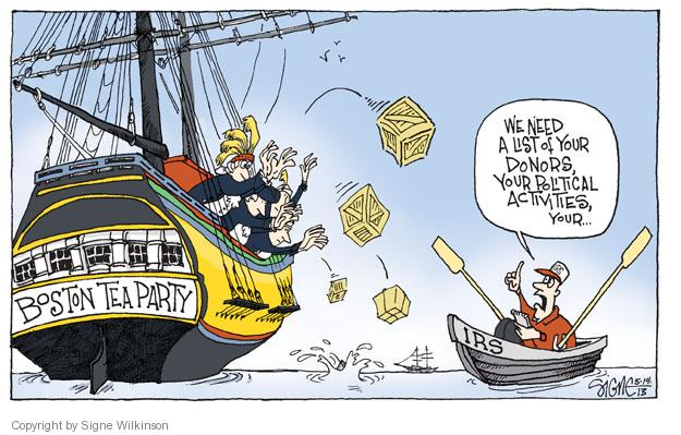 Cartoonist Signe Wilkinson  Signe Wilkinson's Editorial Cartoons 2013-05-14 profit