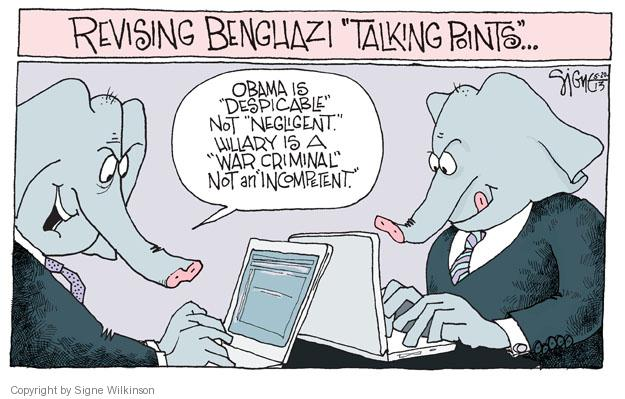 Signe Wilkinson  Signe Wilkinson's Editorial Cartoons 2013-05-20 incompetence