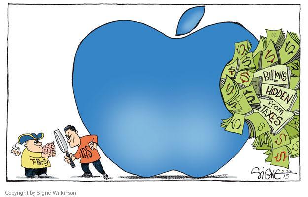 Signe Wilkinson  Signe Wilkinson's Editorial Cartoons 2013-05-22 tax loophole