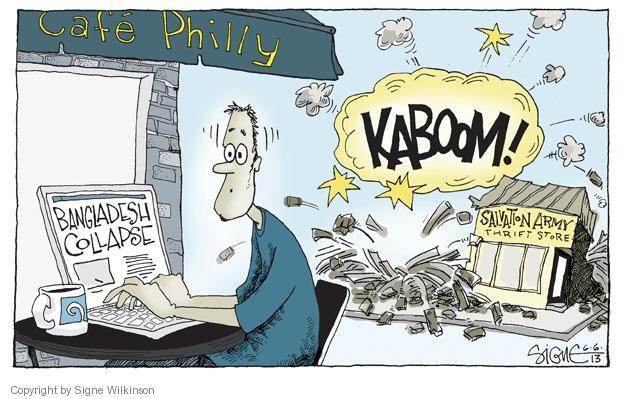 Signe Wilkinson  Signe Wilkinson's Editorial Cartoons 2013-06-06 working conditions