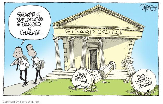Cartoonist Signe Wilkinson  Signe Wilkinson's Editorial Cartoons 2013-06-07 recession