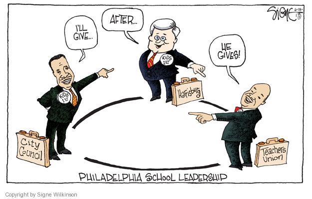 Signe Wilkinson  Signe Wilkinson's Editorial Cartoons 2013-06-18 political leader
