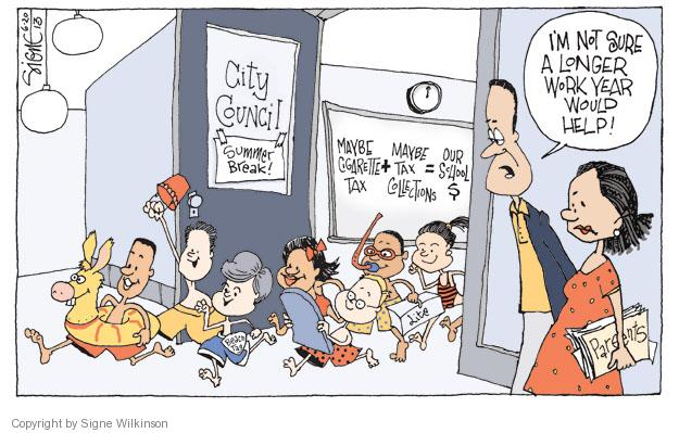 Signe Wilkinson  Signe Wilkinson's Editorial Cartoons 2013-06-20 wouldn't