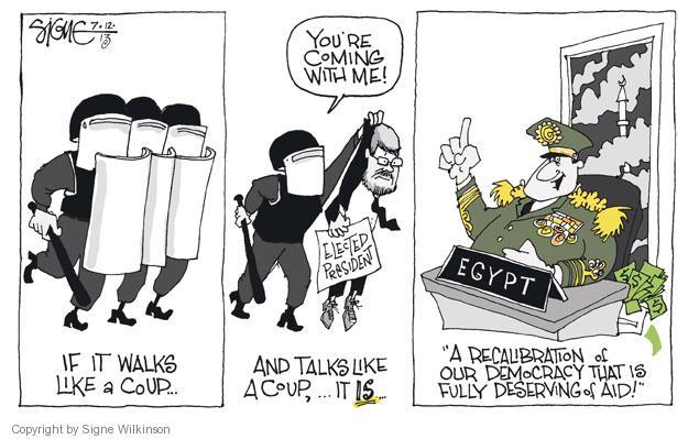 Signe Wilkinson  Signe Wilkinson's Editorial Cartoons 2013-07-12 government revolution