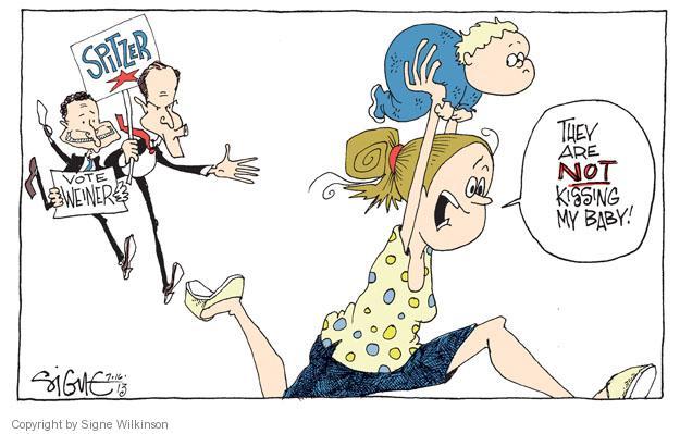 Cartoonist Signe Wilkinson  Signe Wilkinson's Editorial Cartoons 2013-07-16 political scandal