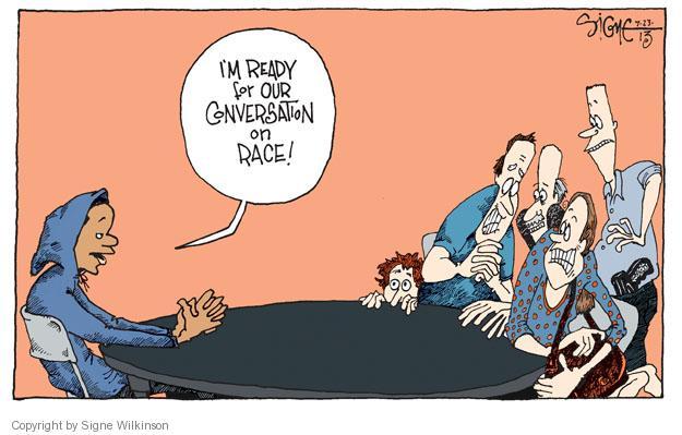 Signe Wilkinson  Signe Wilkinson's Editorial Cartoons 2013-07-23 afraid