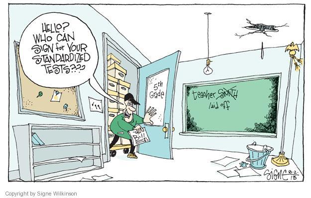 Cartoonist Signe Wilkinson  Signe Wilkinson's Editorial Cartoons 2013-08-03 test