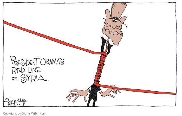 Signe Wilkinson  Signe Wilkinson's Editorial Cartoons 2013-09-10 presidential administration