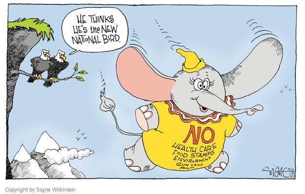 Cartoonist Signe Wilkinson  Signe Wilkinson's Editorial Cartoons 2013-09-22 congress health care