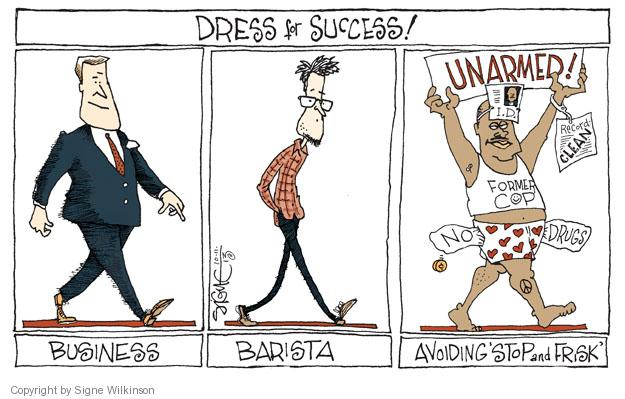 Cartoonist Signe Wilkinson  Signe Wilkinson's Editorial Cartoons 2013-10-11 police