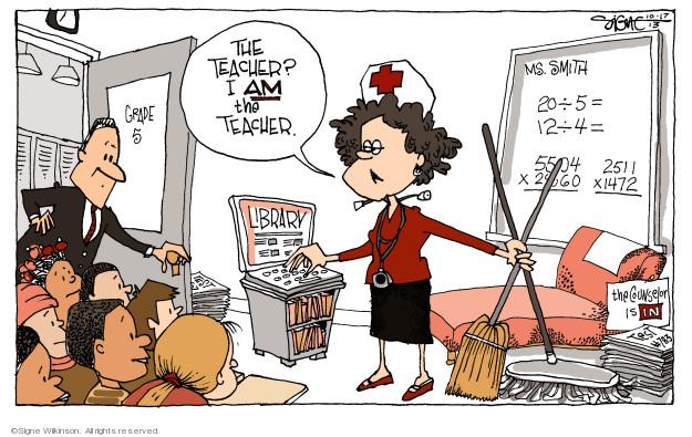 Signe Wilkinson  Signe Wilkinson's Editorial Cartoons 2013-10-17 class